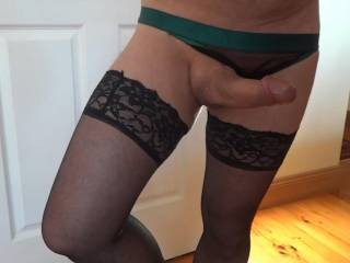 Pic of me from a recent cam session - if  you like to cam in panties and nylon let me know and let the fun begin!!!