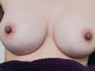 Showing off my tits