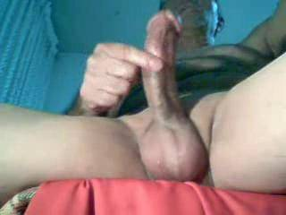 Looks like you're having fun! Love your facial expressions! Beautiful Jerk Off! Great Cock and Balls! Superior CUM!
