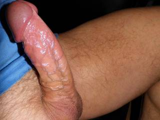 Mmmmm, that cock is still the best looking , most delicious, and probably  the best tasting cock on this site.  Yes I'd enjoy playing with it and sucking it.  MILF K