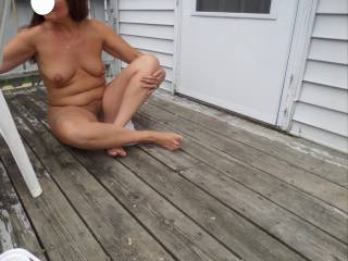 Love outdoor nudity! Lovely girl!