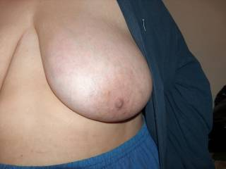 Gorgeous tits love to seee these covered in cum