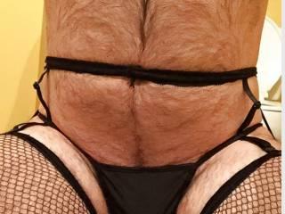 Me in stockings panties and garters