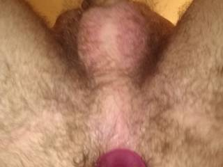 Stretching my ass with a buttplug, got me instantly hard. You like?