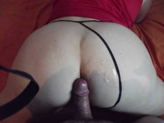 A friend from zoig who came and cum over my ass...who wanna be the next one to play?