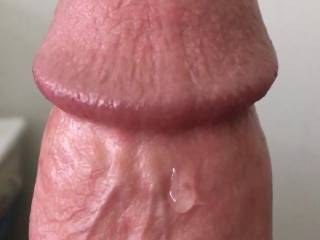 Check out my morning precum for the ladies!