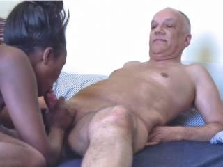 Enjoy some interracial blowjob pics with porn actor Cane - various partners