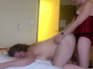 My wife getting fucked by her girlfriend