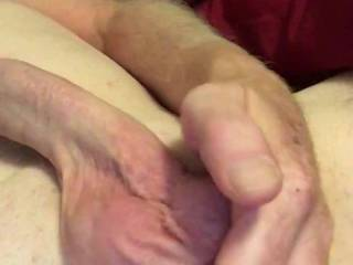 Jerky cock and some nutt pulling