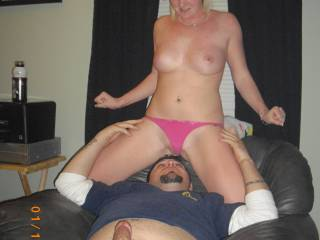 Wow, now this photo depicts what I love about couples, wonderful bodies, marvelous tits to suck and nibble as handsome cock to suck and stroke off and a couple to watch in all manner of sexual play and to interact with.  It  just doesn't get better than that.