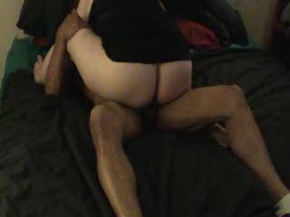 My wife will love listening to yours moaning with pleasure as that big black cock fills her up.  I wish I could watch my wife getting the same sort of treatment!