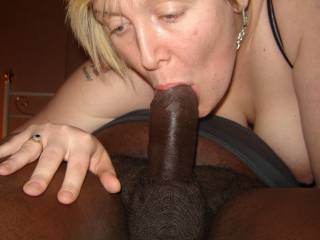 more cock in her mouth