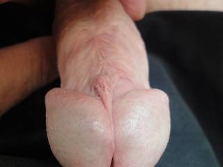 Another closeup of my cut pierced dick. Please have a look at my other pix with the piercings on   :-)