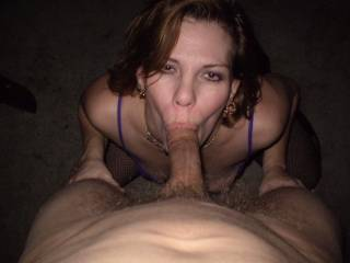 She knows where her needy mouth should be all day. Very gorgeous mouth lips to service hard cock and for her to bring the taste of cock and cum all over them from the early morning till late at night.