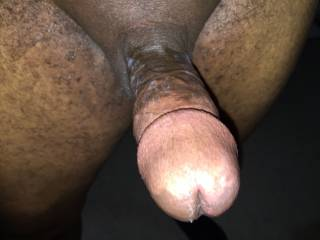 I like my cum all over his cock. Do you?