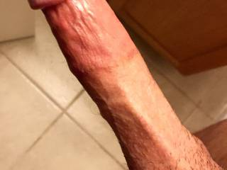 that's the highest cut cock I've ever seen !! bet it feels amazing!