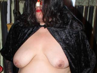 Halloween tits!