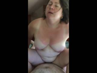 Another Vid from a past summer. I love riding, I love it nice and deep! Anyone want to cum in my mouth while I go for a ride?