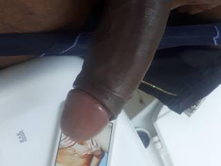 Hope you love my black cock exploring your fertile white pussy, so tight cum on it...