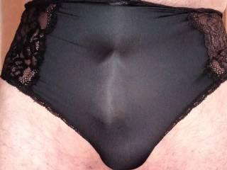 These panties feel so good against my cock
