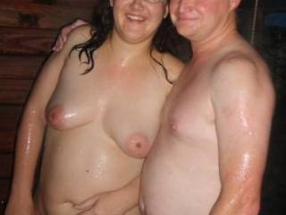 us at a swingers party, wana join us?