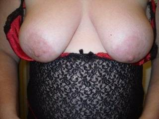 You like gf's tits ?  I LUV them in my face when she is cowgirl