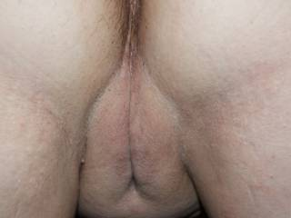 wife bent over waing for me to slide my cock up in that tight pussy,gotta love it