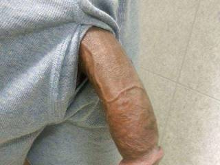 Omg not even hard n twice the size of my husbands hard cock