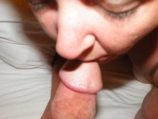 kissing my cock