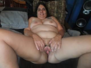 loves showing her cunt