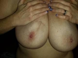 Wife\'s big tits