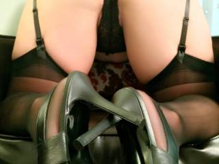 I wish I was there now, so I can come from behind you and start to squeeze and kiss your ass.. Then slowly take off your panties and spread your ass cheeks and start to lick your pussy, I will like it untill your pussy is wet then I slide my hard dick and I will fuck you hard and spank your Gorfeous Ass!