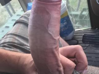 Throbbing hard cock
