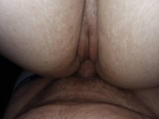 Deep in her tight pussy at at the park