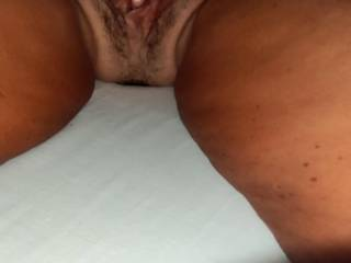 my wife likes it when I massage her butt and open her pussy with my hands