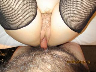 Toys are fun, but nothing beats a hot cock slipping into my pussy.
