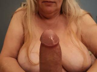 Would you like Hubby\'s thick and juicy cock?