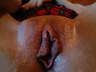 Wonderful wet pussy, I would love to lick and suck on that sweet pussy then stick my cock into it.