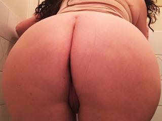 Bent over and ready