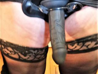 Ok ... I'll put my stockings on and bend over for you