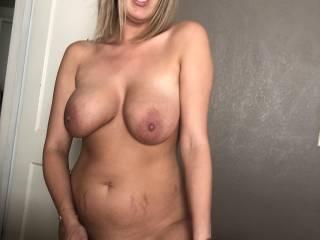Self pleasuring while I stroke cock