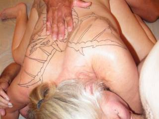 Love to see her getting all 3 holes filled up!