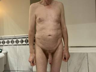 I am stripped off and ready for the shower, will you join me?