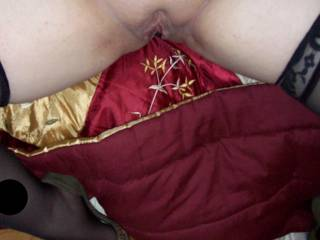 Hotwife friend showing off her pussy while I watched her play