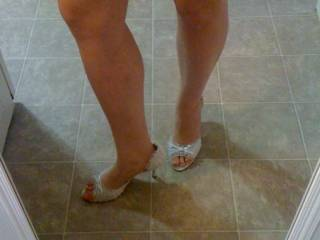 great legs and feet.  i would to have them wrapped around me.
