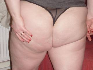 Oh my God that is a really cute bottom.  I'd love to give it a good smack.
