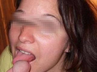 My wife sucks my cock