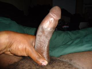 mmmmm should post more so we can view your Big,Black,Beautiful,Chocolate Cock!!!!!!