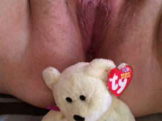 Mmm love to be bare with you and love your heart shaped pussy love to open it up with my cock