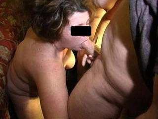 My wife sucking another guy while I watch and take pics